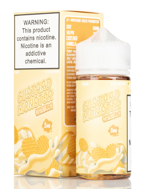 Same day Delivery | custard monster vanilla- Online vapestore