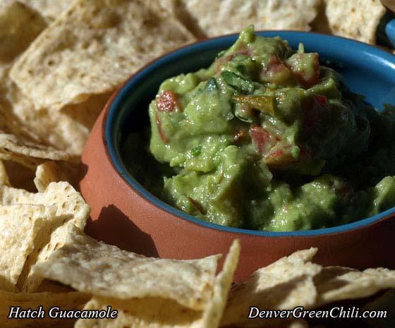 Hatch Chile Guacamole