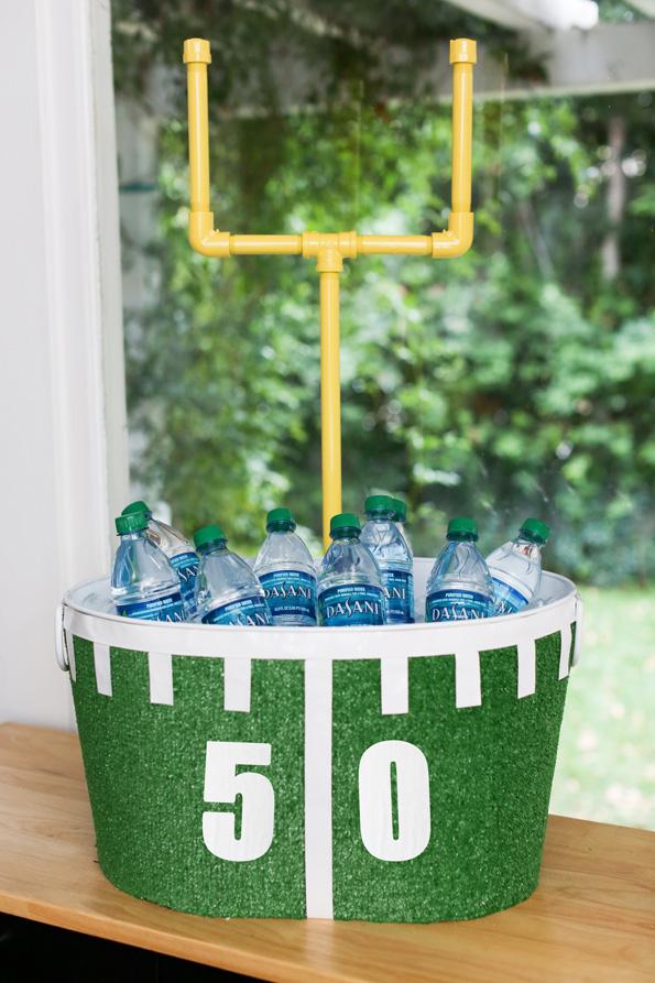 Astroturf Football Drink Tub
