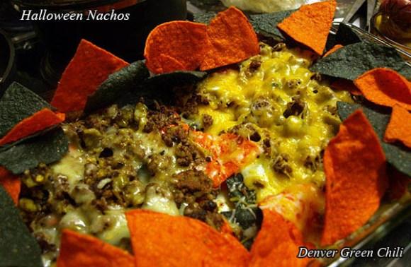 Spicy Halloween Nachos