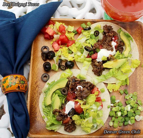 Beef Bulgogi Tacos
