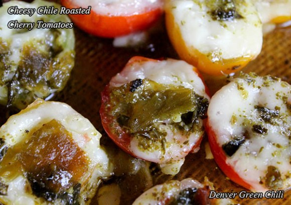 Cheesy Chile Roasted Cherry Tomatoes