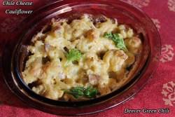 Chile Cheese Cauliflower
