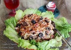 Loaded Chipotle Potato Salad