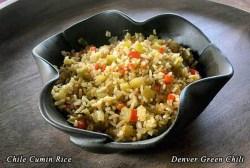 Chile Cumin Rice