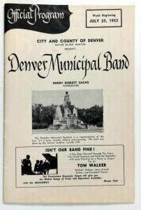 denver municipal band program