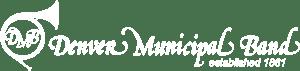 denver municipal band white logo