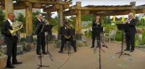 denver municipal band in the botanic gardens