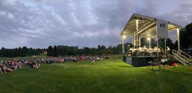 denver municipal band at southmoor park in 2021