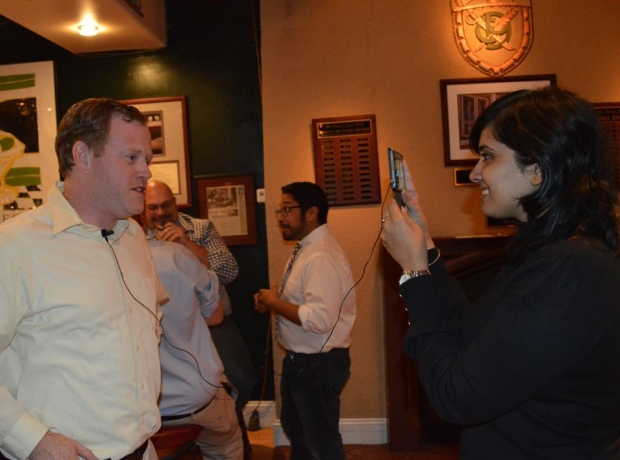 Foreign Journalists visit Denver Press Club