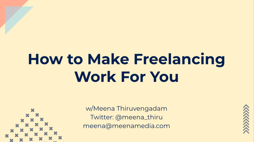 How to Make Freelancing Work During Coronavirus