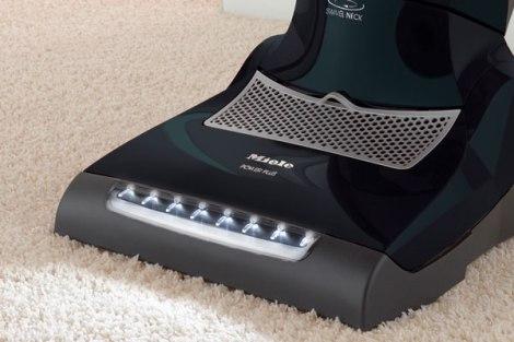 Miele AutoEco Upright Vacuum Cleaner LED headlight
