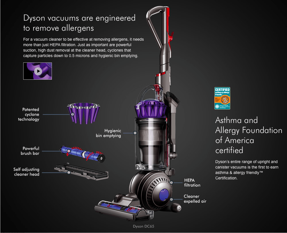 Dyson DC65 Animal Vacuum Cleaner Denver, Colorado