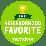 Nextdoor 2021 Award Badge