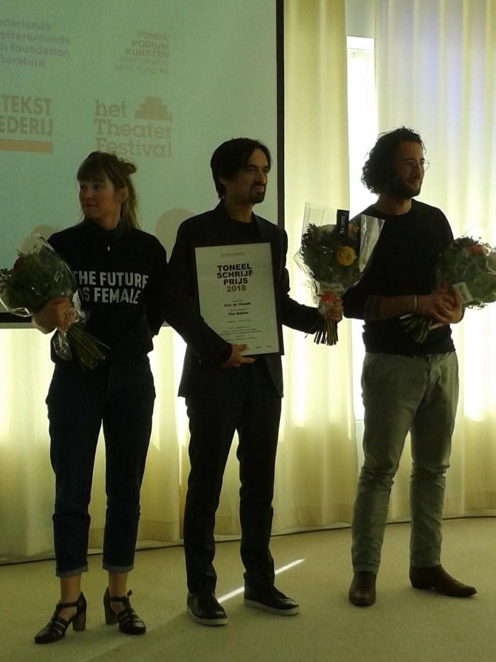 Juryrapport Toneelschrijfprijs 2018