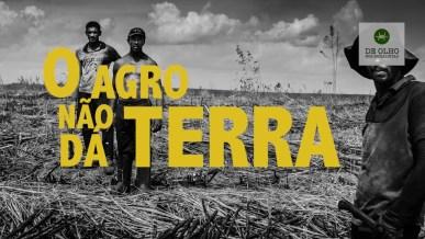 O agronegócio é um modelo que joga contra a distribuição de terras. (Imagem: De Olho nos Ruralistas)