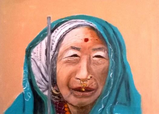 Tanje de Die 'Tibetaanse vrouw'.jpg