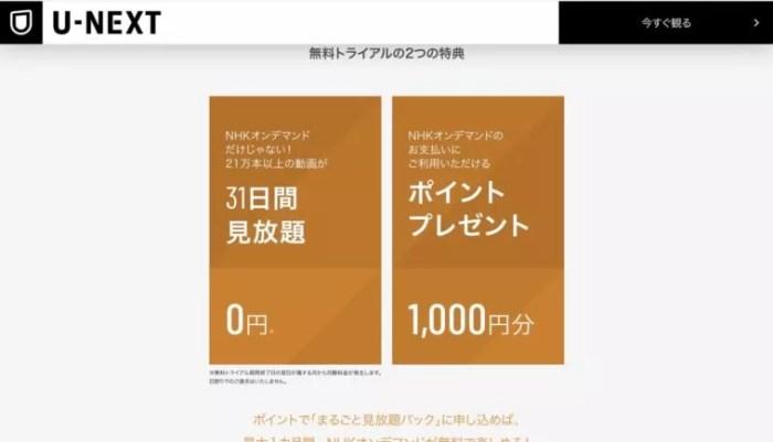 NHKオンデマンド ポイント