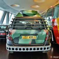 Lost world car @ Mercedes-Benz Museum Stuttgart