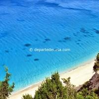 plaje din Lefkada Grecia