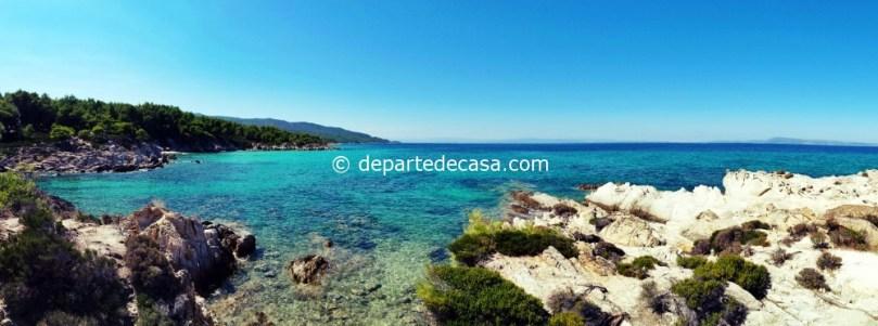 plaje din sithonia, Halkidiki