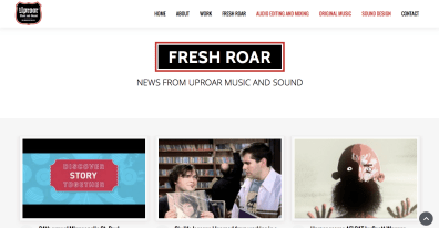 DepartmentD.com - UproarMusicAndSound.com - Fresh Roar blog