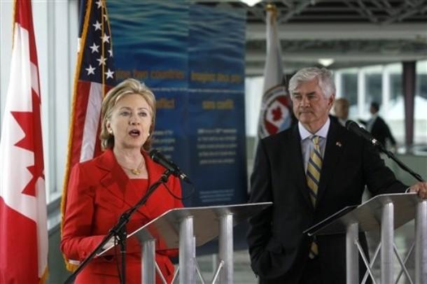 US Clinton Cannon Iran