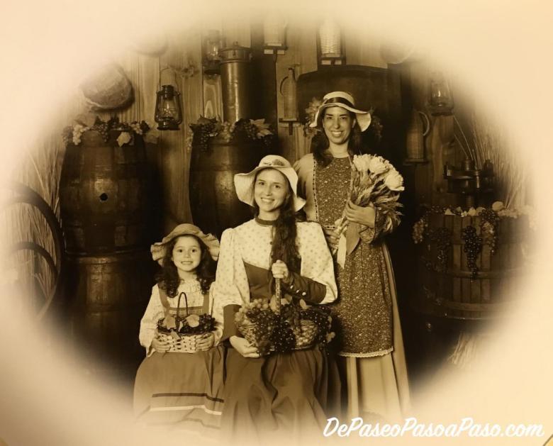 Foto al estilo antigua tomada en Mundo a Vapor