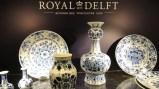 Royal Delft - The Koninklijke Porceleyne Fles - a única fábrica de cerâmica remanescente na cidade