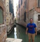 Jim Hoff (LAS MS '09) in Venice, Italy.