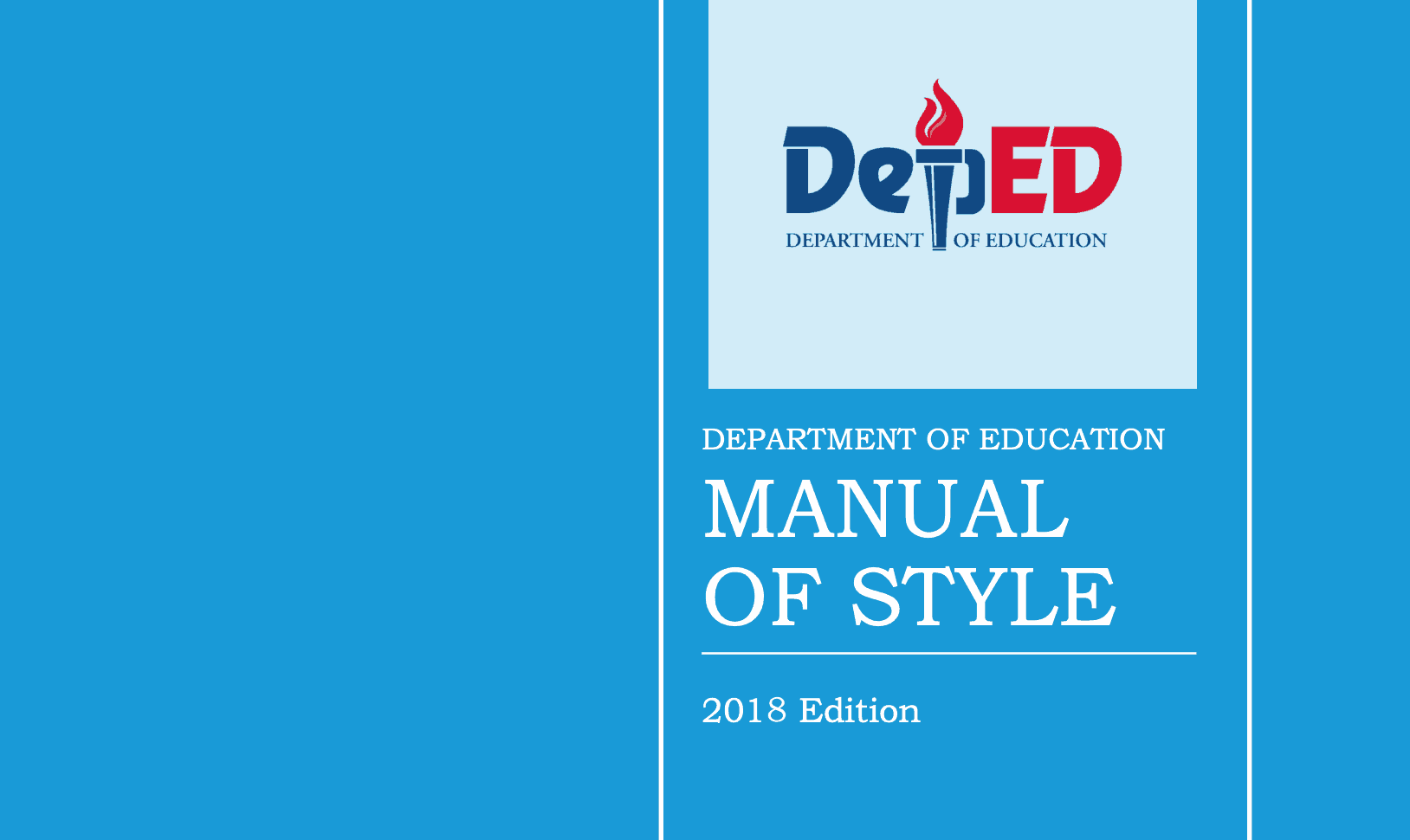 The Department Of Education Deped Manual Of Style