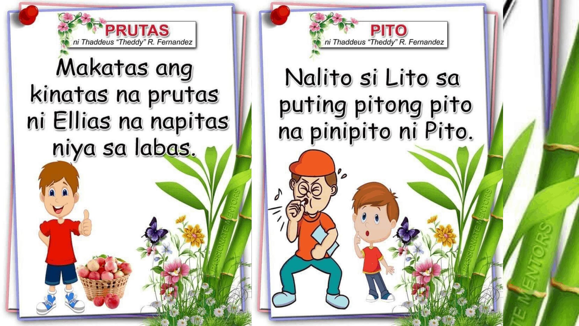 Filipino Short Reading Materials