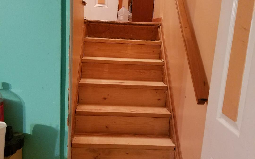 Stairs completed