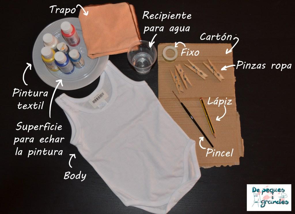 personalización de un body materiales