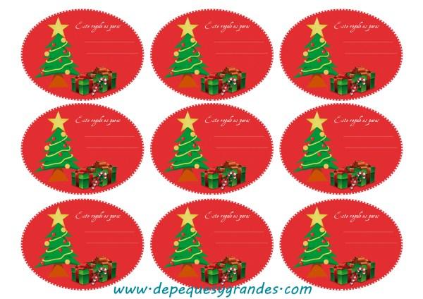 Imprimibles gratis para Navidad
