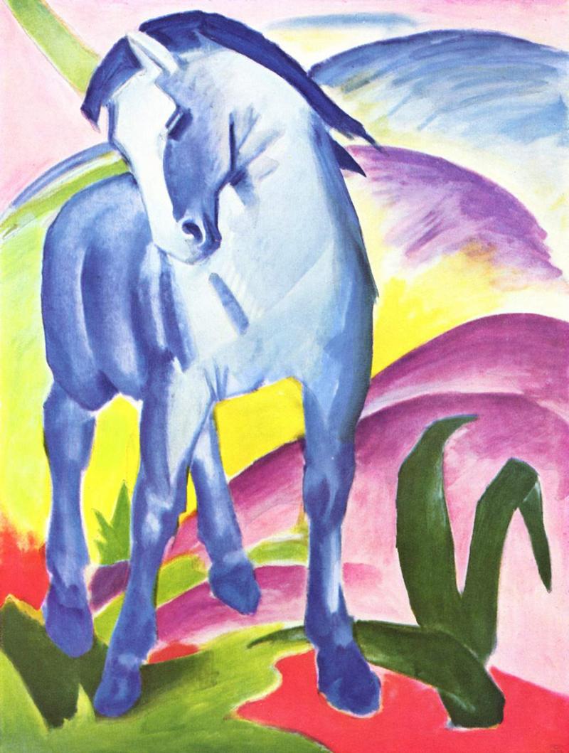 Caballo Azul I