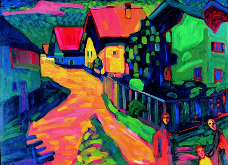 Murnau Street with Woman