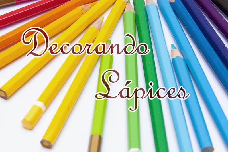 cabecera decoración de lápices