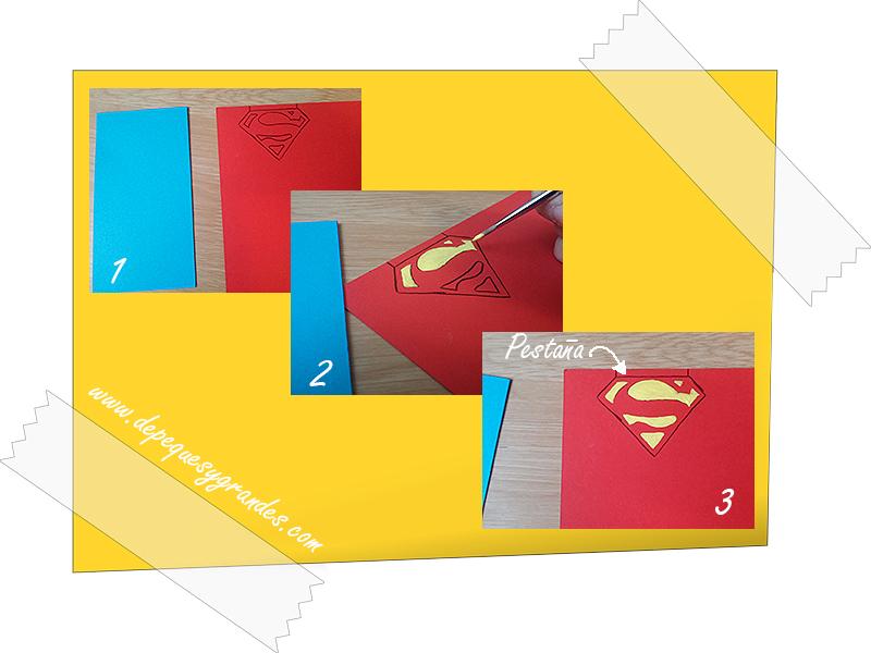 dibujando logo de superman
