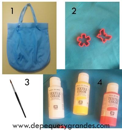materiales para tunear tu bolso de verano