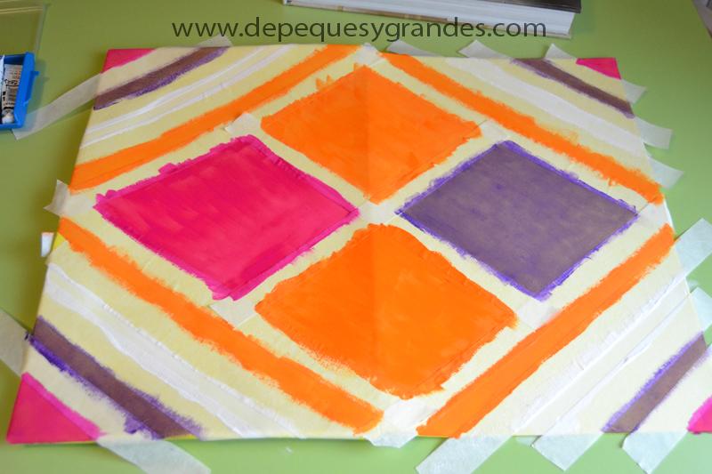 carpeta pintada
