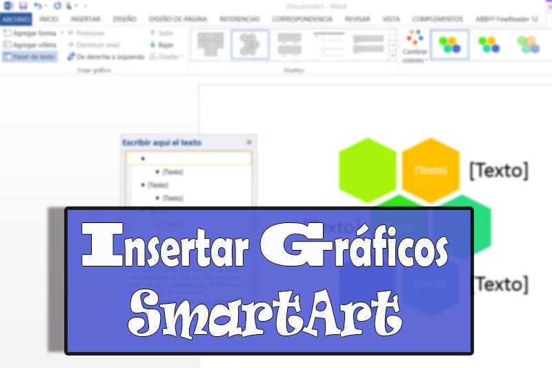 cabecera insertar gráficos SmartArt