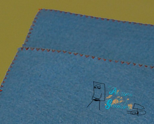 detalle costuras del estuche