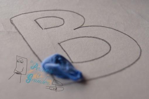 decorando letra b