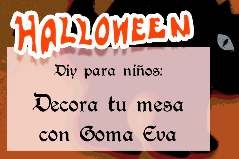 portada diy para niños halloween