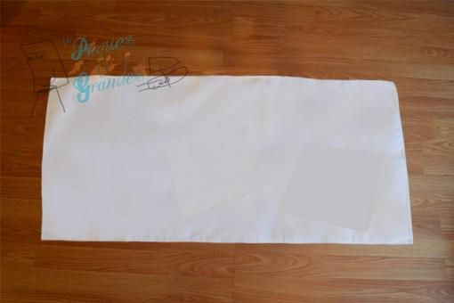tela blanca para mantel