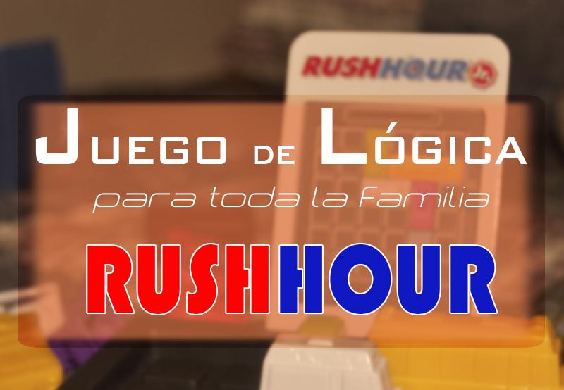 portada juego lógica rush hour