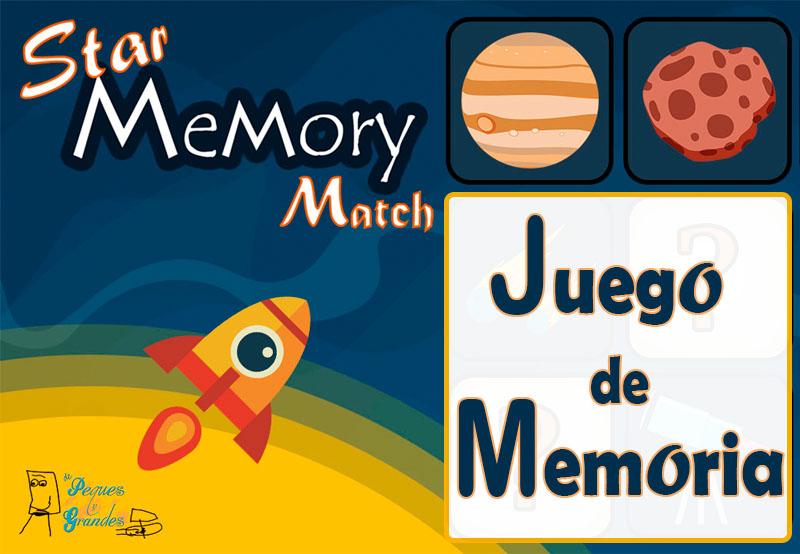 portada star memory match juego de memoria