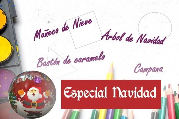dibujo con formas 5 especial navidad