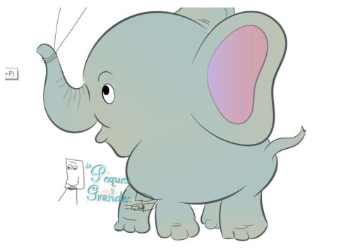 color base del elefante